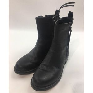 Dkny Ankle black leather Boots